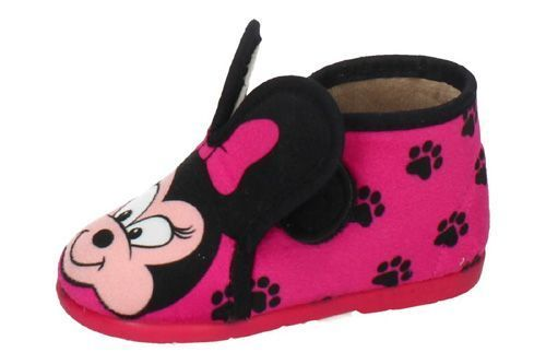 12467 BOTAS MINNIE VELCRO