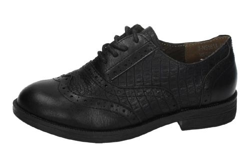 NS561A-12 ZAPATOS DE CORDONES color NEGRO