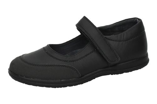 G01A-12 ZAPATOS COLEGIALES color NEGRO
