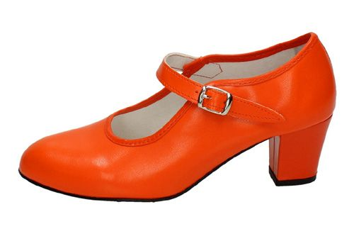 15 ZAPATOS SEVILLANAS color NARANJA