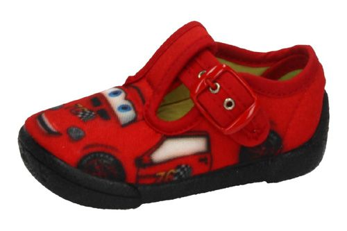 2450 ZAPATILLA LONA CARS color ROJO