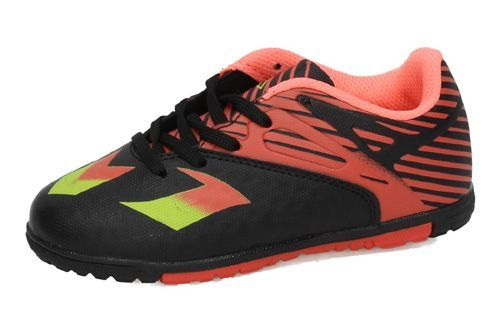 3-7915P-12 ZAPATILLAS FUTSAL color NEGRO-NARANJA