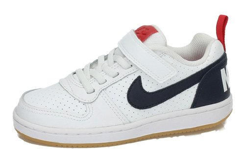 870025 105 NIKE COURT BOROUGH color BLANCO-AZUL