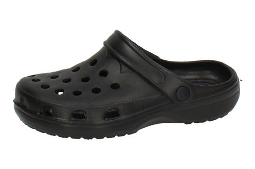 DR-1 CHANCLAS ZUECOS CLOG color NEGRO