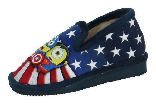 2063-2 ZAPATILLAS MINIONS color MARINO