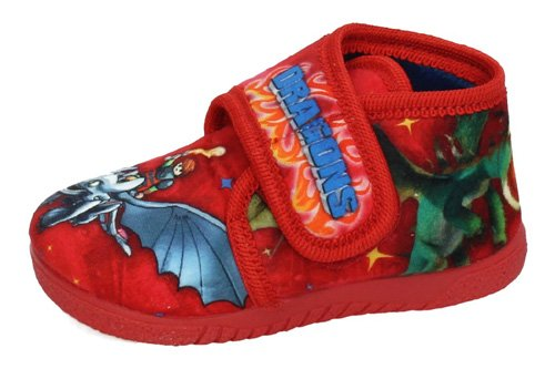 732 ZAPATILLAS DRAGONS color ROJO