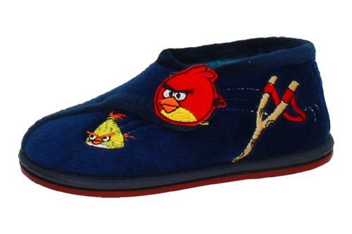 3598 ZAPATILLA ANGRY BIRD color MARINO