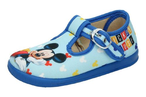 033-D LONAS D MICKEY MOUSE color AZUL
