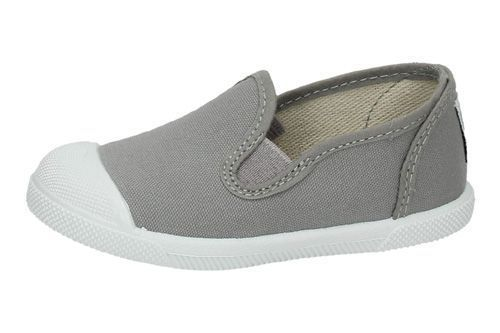 153 ZAPATILLAS DE LONA color GRIS