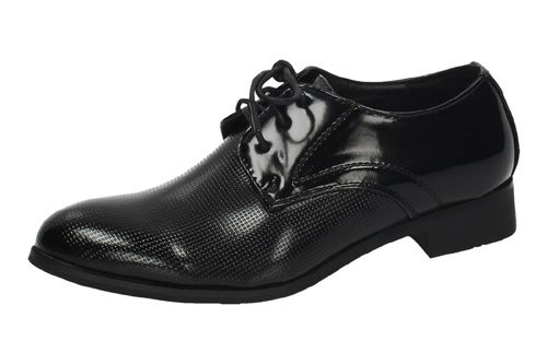G7 BLUCHER RELIEVE color NEGRO