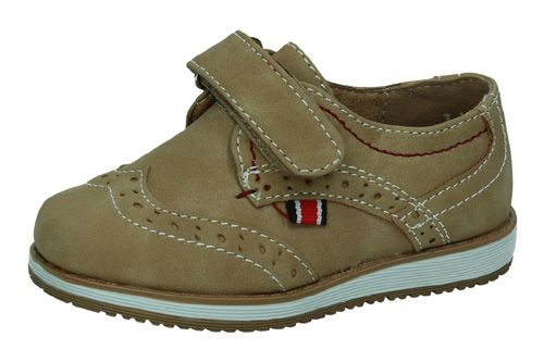3-NS561B-18 MOCASINES VELCRO color CAMEL