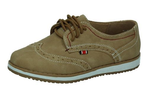 5-NS561B-18 ZAPATOS CORDONES color CAMEL