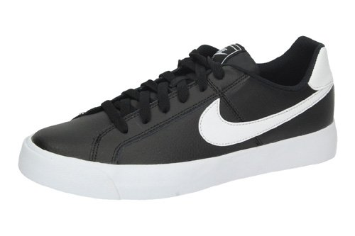 BQ4222 002 NIKE COURT ROYALE AC color NEGRO-BLANCO