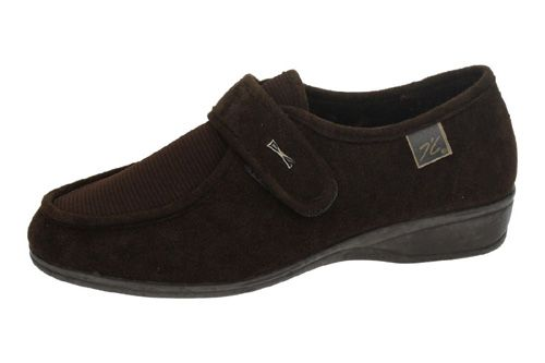771 EXTRA ANCHAS VELCRO color MARRÓN