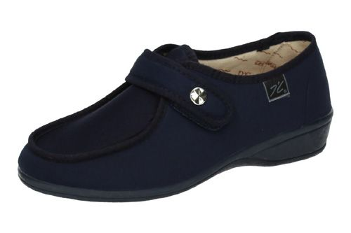 Made IN Spain 746 Extra Anchas Velcro Se?ora Zapatillas Azul 37 BJgTtg9