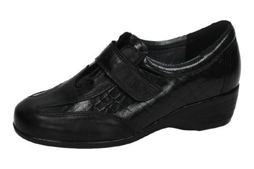 311V MOCASINES DE PIEL color NEGRO