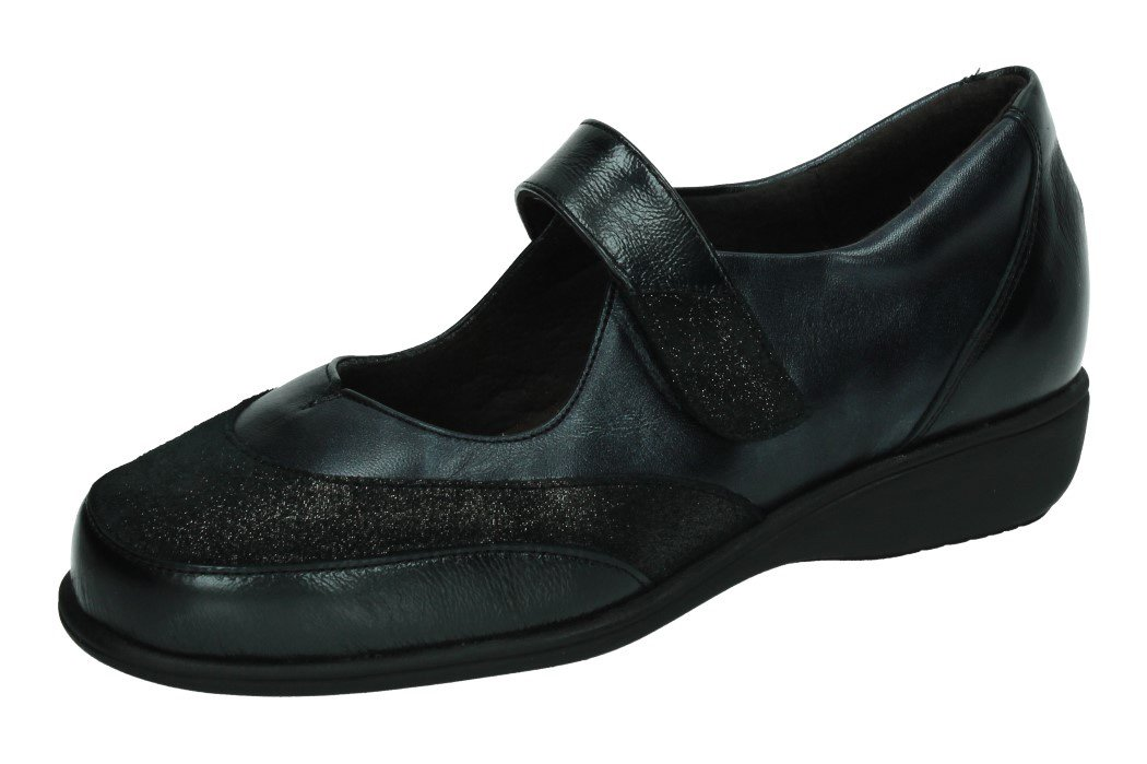 53530 MERCEDITAS VELCRO color NEGRO