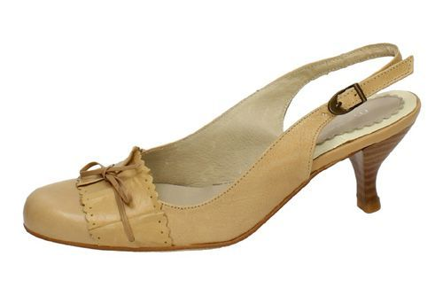125143 TACONES BEIGE color BEIG